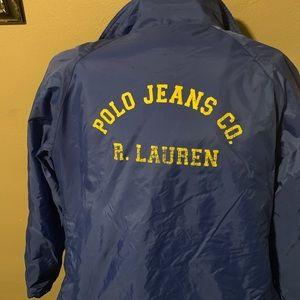Polo blue winter coat